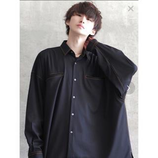 ハレ(HARE)のanown シャイニーステッチオーバーサイズシャツ(シャツ)