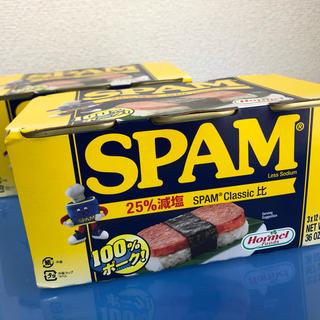 コストコ(コストコ)のSPAM  340g×6缶 100%ポーク 25%減塩タイプ(缶詰/瓶詰)