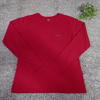 モンベル(mont bell)の美品*モンベル*ウィックロン長袖TシャツロンT(Tシャツ(長袖/七分))