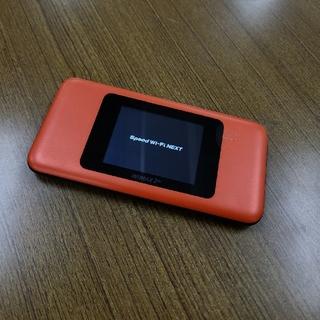 au WiMAX2+ Speed Wi-Fi NEXT W06 中古美品(PC周辺機器)
