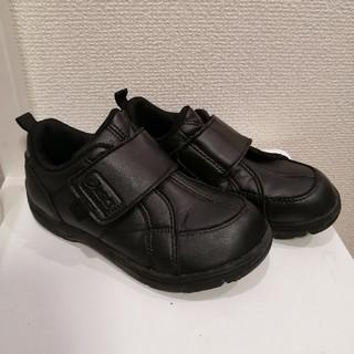 asics - 18cm★アシックス フォーマルシューズ スニーカー 黒