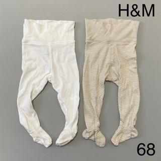 H&M - H&M タイツ 68 4-6M 2点セット