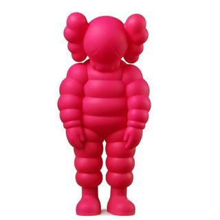 メディコムトイ(MEDICOM TOY)のKAWS What Party Figure Pink カウズ ピンク(その他)