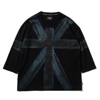 グラム(glamb)の新品/グラム glamb/パンクロック系 カットソー/八分丈Tシャツ/①/S(Tシャツ/カットソー(七分/長袖))