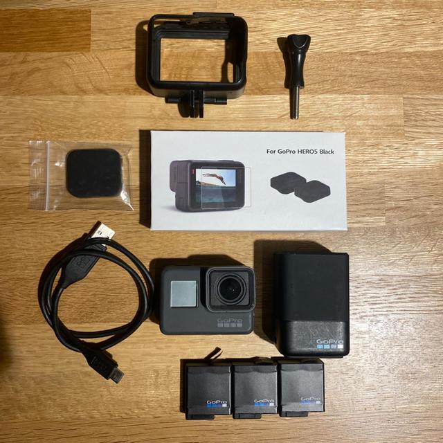 GoPro(ゴープロ)のgopro HERO 6 スマホ/家電/カメラのカメラ(コンパクトデジタルカメラ)の商品写真