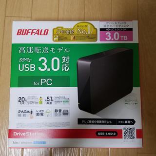 Buffalo - BUFFALO 外付けHDD3TB