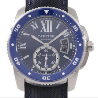 カルティエ(Cartier)のカルティエ CARTIER カリブルドゥカルティエダイバーWSCA0010メンズ(腕時計(アナログ))