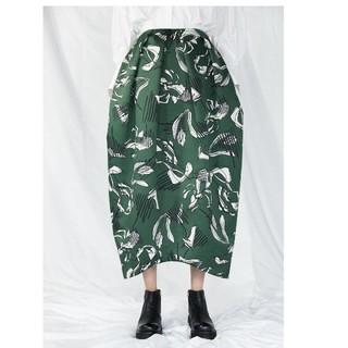 エンフォルド(ENFOLD)の定価5万超 東原亜希さん着用♡今季新品 エンフォルド オリジナル柄スカート (ロングスカート)