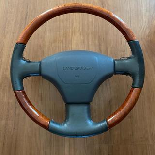 トヨタ - ランドクルーザー80 ウッドコンビハンドル