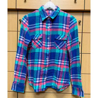 シェイクシェイク(SHAKE SHAKE)のチェックシャツ(シャツ/ブラウス(長袖/七分))