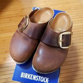 ビルケンシュトック(BIRKENSTOCK)のビルケンシュトック ビッグバックル バーゼル(サンダル)