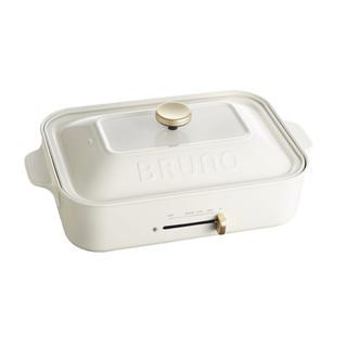 イデアインターナショナル(I.D.E.A international)の新品未使用 ブルーノ ホットプレート コンパクトサイズ (鍋/フライパン)