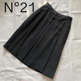 ヌメロヴェントゥーノ(N°21)の未使用 ヌメロヴェントゥーノ お洒落なレース スカート(ひざ丈スカート)