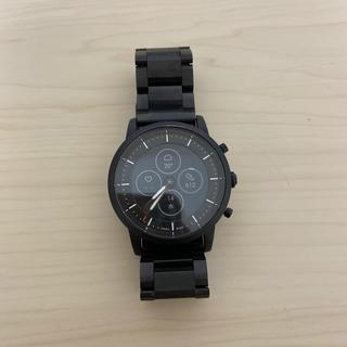 フォッシル(FOSSIL)の値下げ) フォッシルハイブリッドHR スマートウォッチ COLLIDER(腕時計(デジタル))