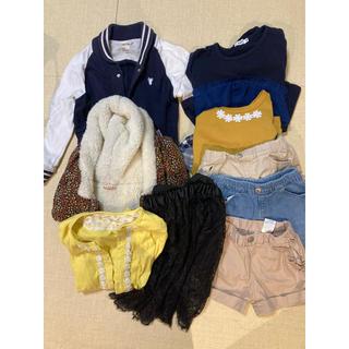 ブランシェス(Branshes)の女児服130まとめ売り(Tシャツ/カットソー)