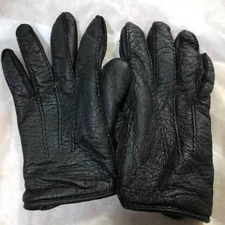 バーニーズニューヨーク(BARNEYS NEW YORK)のRestelli ペッカリー  グローブ 革手袋 レザー リステリ レステリ(手袋)