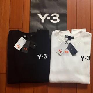 ワイスリー(Y-3)のサイズL黒白2枚セット定番 Y-3スウェット(スウェット)