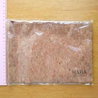 ハーバー(HABA)の【未使用】HABA ノベルティ コルク調フラットポーチ(ポーチ)