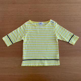 green label relaxing - グリーンレーベルリラクシング 七分袖Tシャツ(105cm)