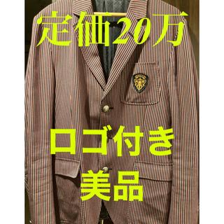 グッチ(Gucci)の【定価20万】GUCCI ロゴ付ジャケット(テーラードジャケット)