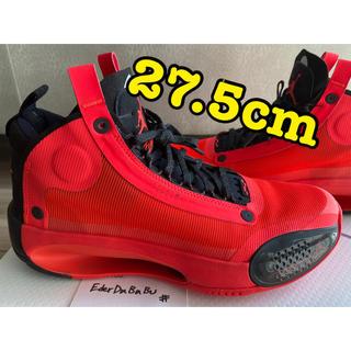 ナイキ(NIKE)の美品 Air Jordan 34 infrared 23 エアジョーダン Rui(スニーカー)