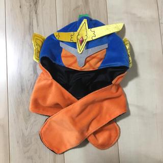 バンダイ(BANDAI)の仮面ライダー ガイム 鎧武 マフラー付き帽子 なりきり 変身(帽子)