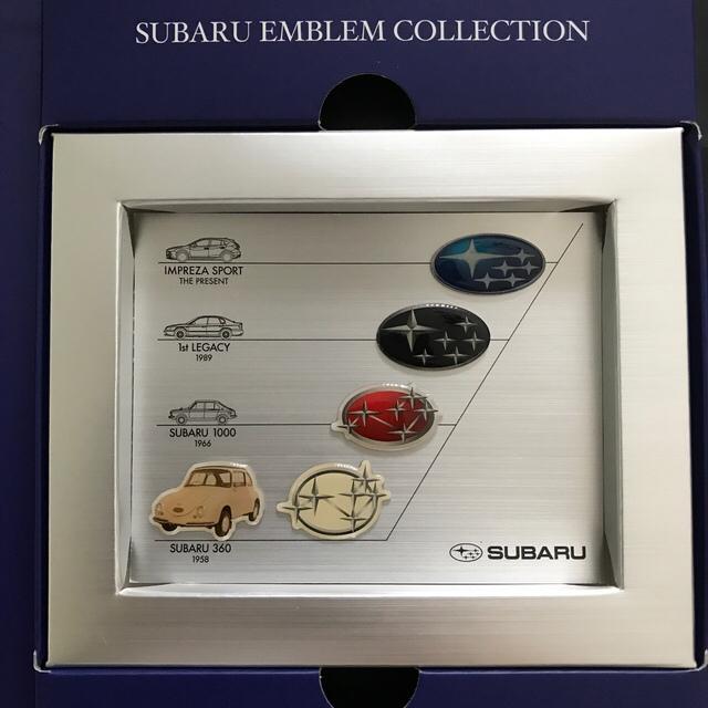 スバル(スバル)のSUBARU ウェルカムボックス DVD ピンバッジ 自動車/バイクの自動車/バイク その他(その他)の商品写真