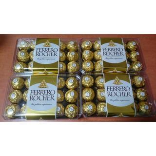FERRERO ROCHER 4箱(菓子/デザート)