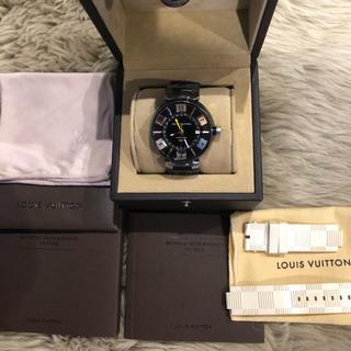 LOUIS VUITTON - ルイヴィトン LOUIS VUITTON タンブール イン ブラック GMT