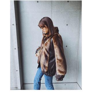 ビューティアンドユースユナイテッドアローズ(BEAUTY&YOUTH UNITED ARROWS)のパーバーズ レザー ジャケット コート ファーコート(毛皮/ファーコート)
