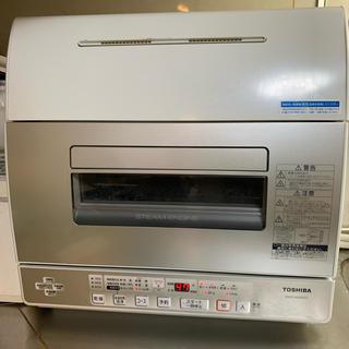 トウシバ(東芝)のTOSHIBA DWS-600D(C) 食洗機 東芝 乾燥機能付き(食器洗い機/乾燥機)