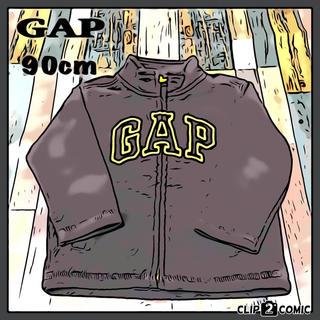 ギャップ(GAP)の【定番フリース】GAP フリースジャケット ☆ センターロゴ 人気カラー 古着(ジャケット/上着)