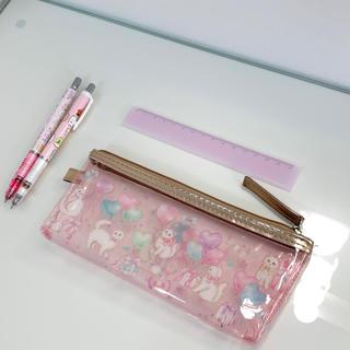 サンエックス(サンエックス)のゆめかわいいピンク 文房具セット 筆箱/定規/シャーペン(ペンケース/筆箱)