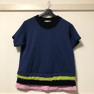 ラフシモンズ(RAF SIMONS)のナマチェコ  ニットシャツ namacheko(Tシャツ/カットソー(半袖/袖なし))