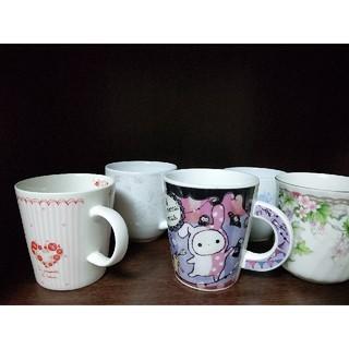ローラアシュレイ(LAURA ASHLEY)のローラアシュレイ等コーヒーマグカップ5個 ノリタケアイトーアイリスオーヤマ(食器)