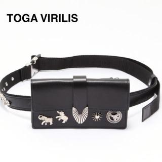 トーガ(TOGA)の【新品】トーガ ビリリース  レザーベルトバッグ ウエストバック(ベルト)
