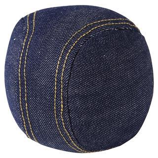 ムジルシリョウヒン(MUJI (無印良品))の無印良品⭐︎デニム生地 野球ボール クッション(クッション)