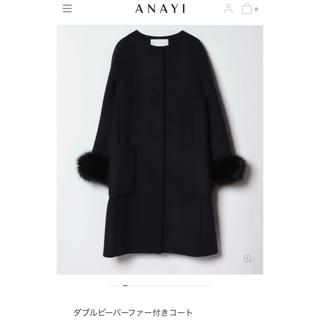 ANAYI - ANAYI アナイ ノーカラーコート