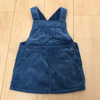 ムジルシリョウヒン(MUJI (無印良品))の無印良品 コーデュロイジャンパースカート(スカート)