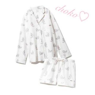 ジェラートピケ(gelato pique)の新品♡完売レア♡ジェラートピケ キャットプリントシャツ ショートパンツ 上下(ルームウェア)