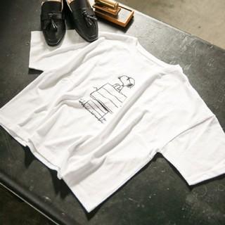 ミスティウーマン(mysty woman)のmisty woman スヌーピーコラボTシャツ(Tシャツ(半袖/袖なし))