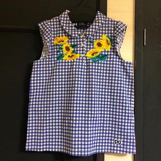 パーリーゲイツ(PEARLY GATES)のPEARLY GATES クールマックスサッカー ギンガムチェックプリント(Tシャツ(半袖/袖なし))