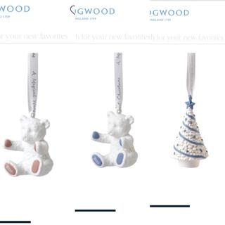 ウェッジウッド(WEDGWOOD)の専用 ブルーリボン、クマ、ツリー 新品 オーナメント ウェッジウッド   (その他)