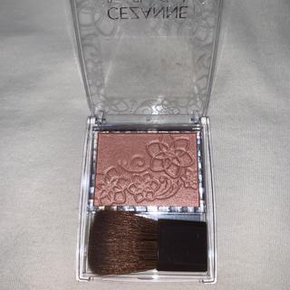 セザンヌケショウヒン(CEZANNE(セザンヌ化粧品))のセザンヌ パールグロウチーク P2 ベージュコーラル(2.4g)(チーク)