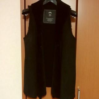DOUBLE STANDARD CLOTHING - 美品‼️ダブルスタンダードクロージングムートンジレ