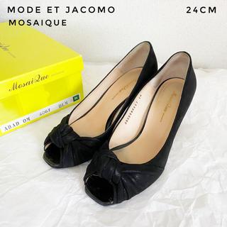 モードエジャコモ(Mode et Jacomo)のMode et Jacomo オープントゥパンプス 5(ハイヒール/パンプス)