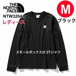 ザノースフェイス(THE NORTH FACE)のノースフェイス レディース スモールボックスロゴティー M ブラック(Tシャツ(長袖/七分))