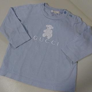 グッチ(Gucci)の美品 レア ベビー GUCCI ベビー ロンT トップス(Tシャツ)