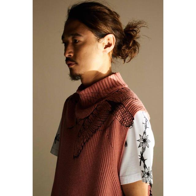 sacai(サカイ)の【定価62700円】sacai×dr.woo 19ss ノースリーブニット メンズのトップス(ニット/セーター)の商品写真