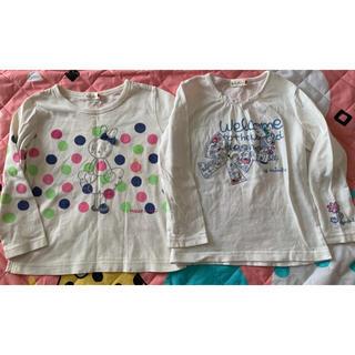 ニットプランナー(KP)のKP ニットプランナー mimiちゃんロンT2枚セット☆100cm☆匿名配送無料(Tシャツ/カットソー)
